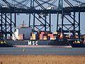 MSC Jordan (ship, 1993) IMO 8918980, Port of Antwerp.JPG