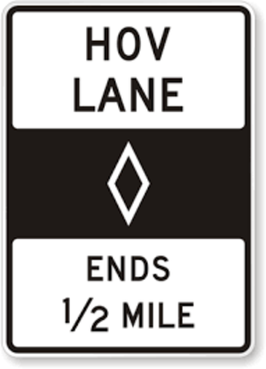 Road signs in the United States - Image: MUTCD R3 30
