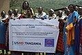 Maasai women at USAID literacy event (6595762119).jpg