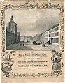 Maastricht, reclameprent Hôtel du Levrier (Alexander Schaepkens).jpg