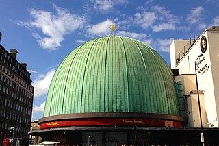 London Planetarium Historic tourist attraction in London - now closed