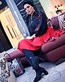Mahsa Ghazanfari, Iranian model and fashion designer (9).jpg