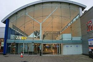 Birchwood - Image: Main Entrance to The Birchwood Shopping Centre geograph.org.uk 1035107