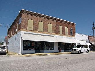 "Lake View, South Carolina - Main Street (a.k.a. ""Shopping Center 9"") and First Avenue"