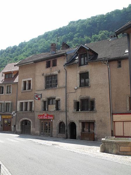 Maison monument historique, Saint Hyppolite, Doubs, France