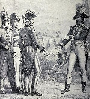 Thomas Maitland (British Army officer) - General Maitland meets Toussaint L'Ouverture to discuss the secret treaty