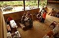 Makeshift examining room in Ghana.jpg