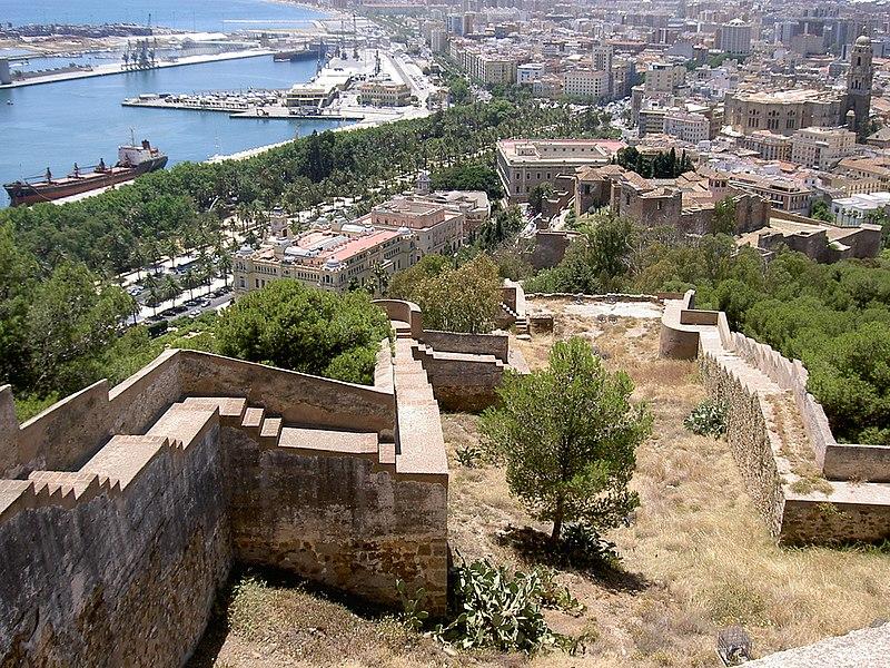 Archivo:Malaga view from gibralfaro.jpg