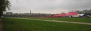 Malieveld met circus, Den Haag, Netherlands, 2...