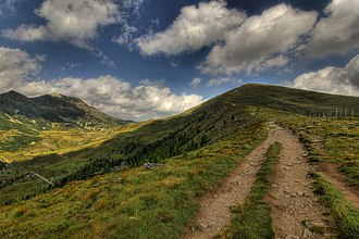 Gurktal Alps - Hiking trail near Bad Kleinkirchheim
