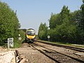 Manchester to Middlesbrough Train at Morley - geograph.org.uk - 2472680.jpg