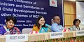Maneka Sanjay Gandhi addressing at the inauguration of the National Conference of the State Ministers and Principal SecretariesSecretaries of WCD to review the implementation of various schemes of Ministry.jpg