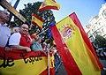 Manifestantes por la unidad de España en los aledaños de la ceremonia de entrega de los Premios Princesa de Asturias.jpg