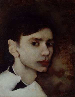 Jan Mankes - Self-portrait of Jan Mankes
