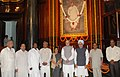Manmohan Singh, the Leader of Opposition in the Lok Sabha, Smt. Sushma Swaraj, the Minister of State for Personnel, Public Grievances & Pensions and Prime Minister's Office, Shri V. Narayanasamy.jpg
