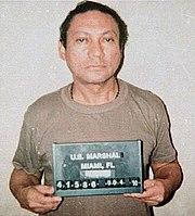 Mugshot of Noriega