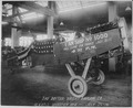 Manufacturing airplanes for the government by Dayton-Wright Airplane Company. Completed plane on exhibition. Plant-1. Op - NARA - 533465.tif