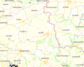 Map commune FR insee code 29274.png