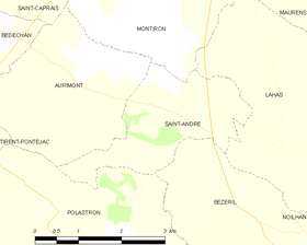 Map commune FR insee code 32356.png