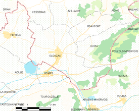 Map commune FR insee code 34189.png