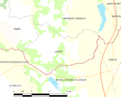 Map commune FR insee code 40148.png