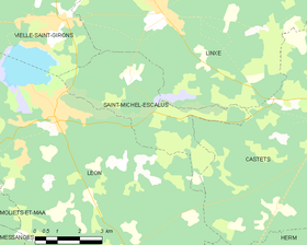 Map commune FR insee code 40276.png