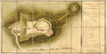 Map of Fort Scarborough, Formerly Castries, as it was Delivered to French Troops, by the English, on the 15th of Vendémiaire Year 11 WDL686.png