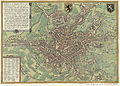Map of Ghent by Braun and Hogenberg, 1650.jpg