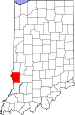Map of Indiana highlighting Sullivan County.svg