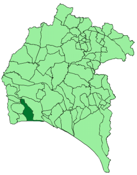 Map of Lepe (Huelva).png