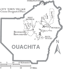 the history of ouachita parish Ouachita river mounds: a five millennium mystery – lori tucker  ouachita river mounds: a five millennium mystery by lori tucker   people at the marksville site in avoyelles parish used images on their pottery similar to those of the hopewell culture in the ohio valley.