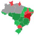 Mapa do resultado da votação no plenário do Senado sobre o pedido de impeachment de Dilma Rousseff.png