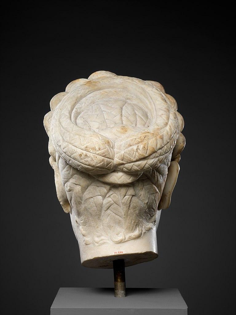 Marble portrait of Marciana, sister of the emperor Trajan, Metropolitan Museum, New York