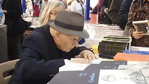 Marcel Conche - Marcel Conche, Foire du livre de Brive 2014.
