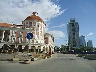 Economy of Angola - Luanda is the financial center of Angola