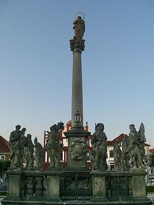 Písek - Marian column