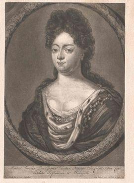 Marie Amelie, Hessen-Kassel, Landgräfin