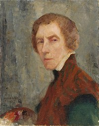 Maria Wiik - Self-Portrait 1917 - Finnish National Gallery A II 1555.jpg