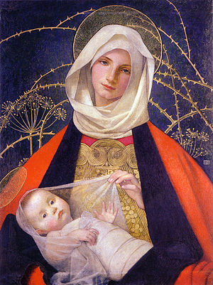 Marianne Stokes - Image: Marianne Stokes Madonna and Child