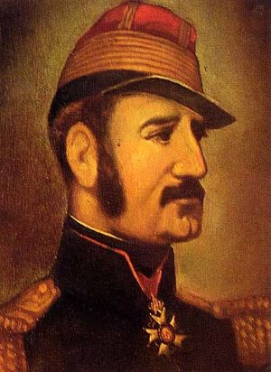 Origins of the French Foreign Legion - Portrait of Marie Alphonse Bedeau.