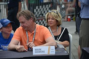 Mark Dismore - Dismore at the 2016 Indianapolis 500