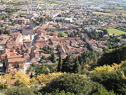 Marostica vue du château supérieur.JPG