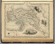 Martin, R.M.; Tallis, J. & F. Turkey in Asia. 1851
