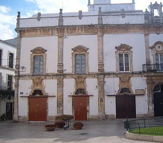 Martina Franca - Martucci Palace in Piazza Roma