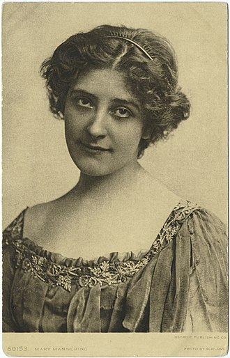 Mary Mannering - Image: Mary Mannering