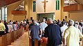 Mass being held in St. Catherine of Siena Catholic Church in Clearwater, Florida, 2018.jpg