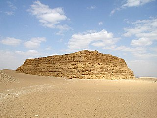 Mastaba type of ancient Egyptian tomb