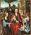 Master of the Antwerp Adoration (and workshop) - The Holy Family with Two Saints - Google Art Project.jpg