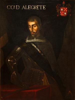 Matias de Albuquerque, Count of Alegrete - Image: Matias de Albuquerque, 1.º Conde de Alegrete (1595? 1647), 1673 1675 Feliciano de Almeida (Galleria degli Uffizi, Florence)