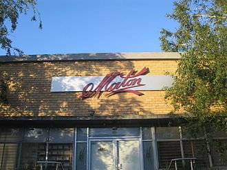 Maton - Entrance to the Maton Guitar factory